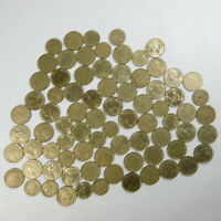 STOCK 78 MONETE MONETINE 10 5 CENTESIMI FRANCHI FRANCESI CENTIMES FRANCAIS