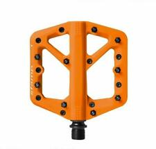 Crank Brothers Stamp 1 Mountain Bike Pedals - ORANGE Small - NEW