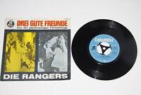 "DIE RANGERS : Drei gute Freunde - Ger 1963 7"" Single Vinyl - C22758 RARE!"