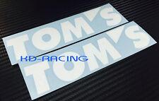 Tom's Toms Stickers Decals Toyota GT86 Mirai C-HR Corolla GTI  FREE POST