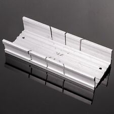 Small PRECISION Mitre Box Wood Saw Straight/Angled Block Pipe Accurate Cut Tool