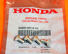 4 x Genuine OEM Honda Acura Disc Brake Retaining Rotor Screws 4 pcs
