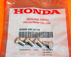 4 x Genuine OEM Honda Acura Disc Brake Retaining Rotor Screws 4 pcs