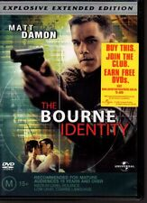 THE BOURNE IDENTITY - DVD R4 (2004) Matt Damon - GC - FREE POST