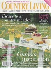 COUNTRY LIVING MAGAZINE July 2004 Outdoor Inspiration AL