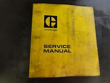 Caterpillar D4E Tractor Repair Service Manual  29X  70X