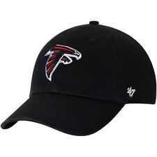 Altanta Falcons 47 Brand Clean Up Hat Adjustable Cap Black