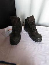 chaussures  de sécurité yds cuir noir et marron 41