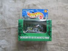1998 HOT WHEELS SPECIAL EDITION CHICAGO TOYS TOTS MOTORCYCLE HARLEY #21337