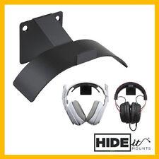HIDEit Uni-H Universal Headset Wall Mount | Headphone Holder Display Hanger