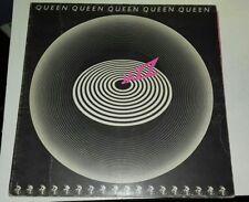 Queen - Jazz  LP ORIG 1978 UK 1st PRESSING 1U 1U ATTATCHED POSTER + INNER