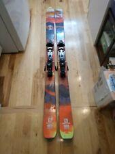 Used Salomon Q98 188 cm Skis with Adjustable Demo Bindings