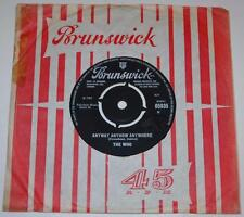 THE WHO*ANYWAY ANYHOW ANYWHERE*DADDY ROLLING*1965*BRUNSWICK 05935*ORIG'*MOD*MINT