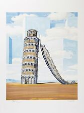 René Magritte - Memory of a Journey (signed & numbered lithograph)