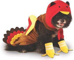 Turkey Animal Thanksgiving Big Dog Cute Funny Fancy Dress Halloween Pet Costume