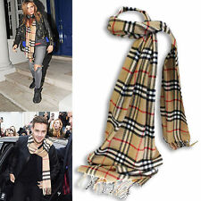 Unbranded Women's Acrylic Plaids Checks Scarves & Shawls
