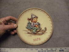 Hummel 1975 Annual Plate, The World's Most Beloved Children Collection