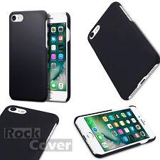 Genuine Apple iPhone 7 caso ibrido TECH In Gomma Robusto Paraurti Duro Nero
