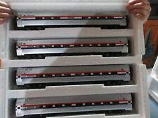 MTH Premier 20-6555 4-Car Amfleet  3 Stripe