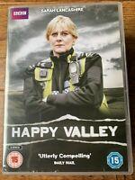 Happy Valley DVD 2014 Británico TV Crimen Drama Series Con / Sarah Lancashire