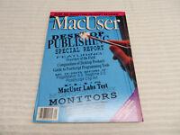 MACUSER MAGAZINE AUGUST 1988 GUC