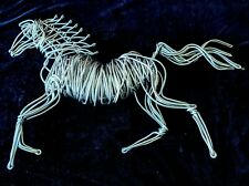 LG WIRE HORSE Art Wall Sculpture