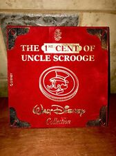 Rare Walt Disney Fist Cent of Uncle Scrooge Pure Silver 986/1000 LE Coin 1995