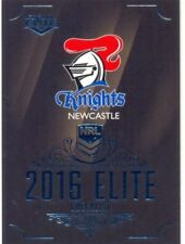 Newcastle Knights 2016 Season NRL & Rugby League Trading Cards