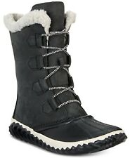 Sorel Out N About Plus Tall Waterproof Black Boot Women's Size 11 M 14918