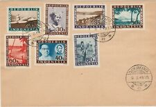 Indonesia 1949 Vienna printings on cover Djokjakarta (philatelic made ) Lincoln