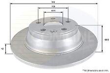 Fits Volvo V70 Petrol & Diesel 07-17 Rear Brake Discs 302mm (standard handbrake)