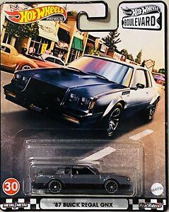 Hot Wheels Boulevard '87 Buick Regal GNX 2021 New Release