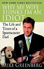 Why My Wife Thinks I'm an Idiot:Life and Times of a Sportscaster Dad PAPERBACK