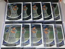 Lot of (10) AARON JUDGE 2013 Bowman Chrome Draft BDPP19 Rookie Card RC FULL SIZE