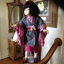 """""""Kiko"""" By Kathy Smith-Fitzpatrick 26"""" Porcelain Doll"""