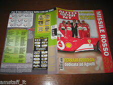 AUTOSPRINT 2003/6=FERRARI F2003-GA DEDICATA A GIANNI AGNELLI=RALLY SVEZIA=