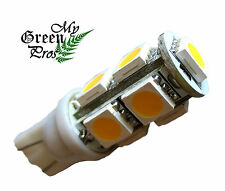 T10 LED Bulb for Landscape Lighting, 9SMD 5050 Chip 1.6W, 12V AC, Replaces 10W