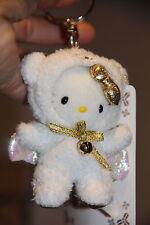 Hello Kitty - AS NEIGE ANGE AVEC or nœud Porte clé
