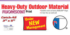 Under New Management Banner Sign new owner business boss grand opening special
