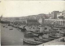 Algérie Alger Tirage argentique Vintage silver ca 1900