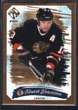 ALEXEI ZHAMNOV 2001/02 PRIVATE STOCK #21 GOLD PARALLEL BLACKHAWKS SP #25/75
