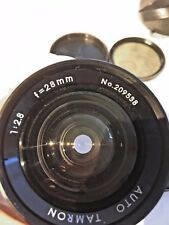 Tamron Adapt-A-Matic  Auto 28mm F2.8 Wide Angle Lens for Pentax M42