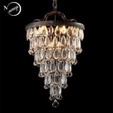 Crystal Drops Pendant Lamp Lights Large Chandelier Lighting Ceiling Fixtures