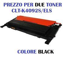 CARTUCCIA PER SAMSUNG CLP-310 CLP-315 CLX-3170 SET DA 2 TONER CLT-K4092 BLACK