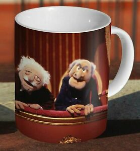 Statler and Waldorf The Muppets Ceramic Tea - Coffee MUG