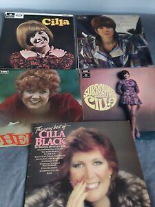 CILLA BLACK COLLECTION OF 5 ORIGINAL VINYL LPS 1960S