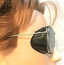 French 1950s Men Glacier Sunglasses~Motorcycle / Ski~Made In France~Rare Vintage
