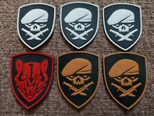 New Listing(Lot of 6) Rubber Skull Knife Sword Morale Patch wholesale bulk -ships Free-