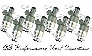 Rochester Flow Matched Fuel Injector Set for Cadillac 4.5 17102728 (8)