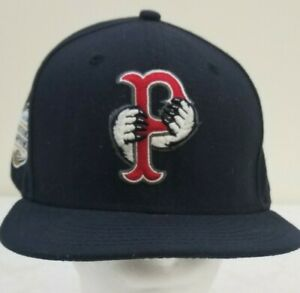 Pawtucket Paw Sox New Era 59fifty Minor League 2014 Fitted Hat Size 7 1/2 Rare